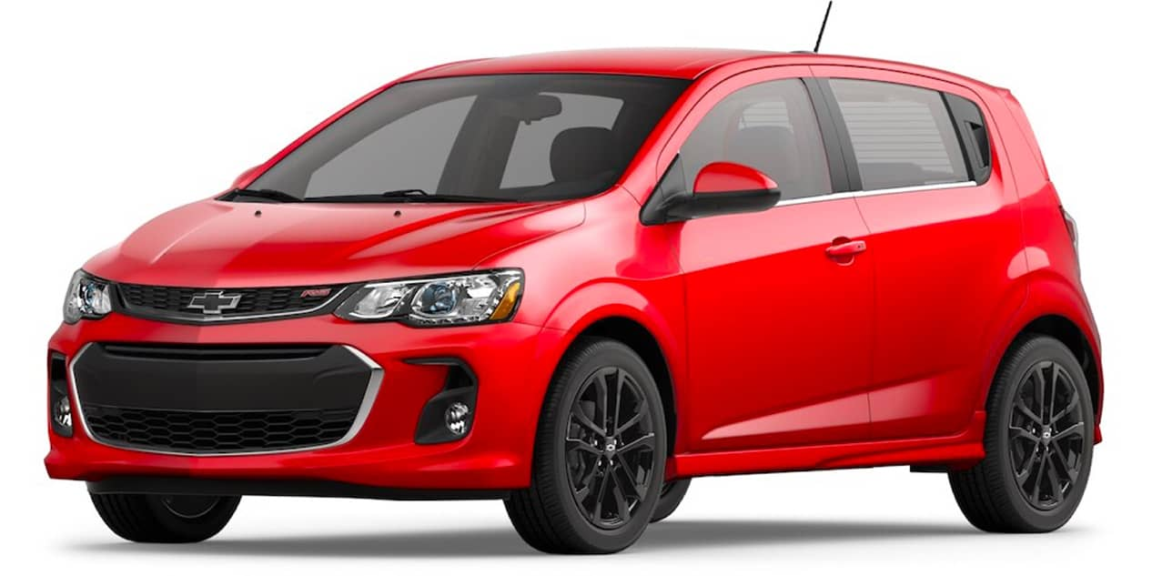 Chevrolet Sonic Red Hot