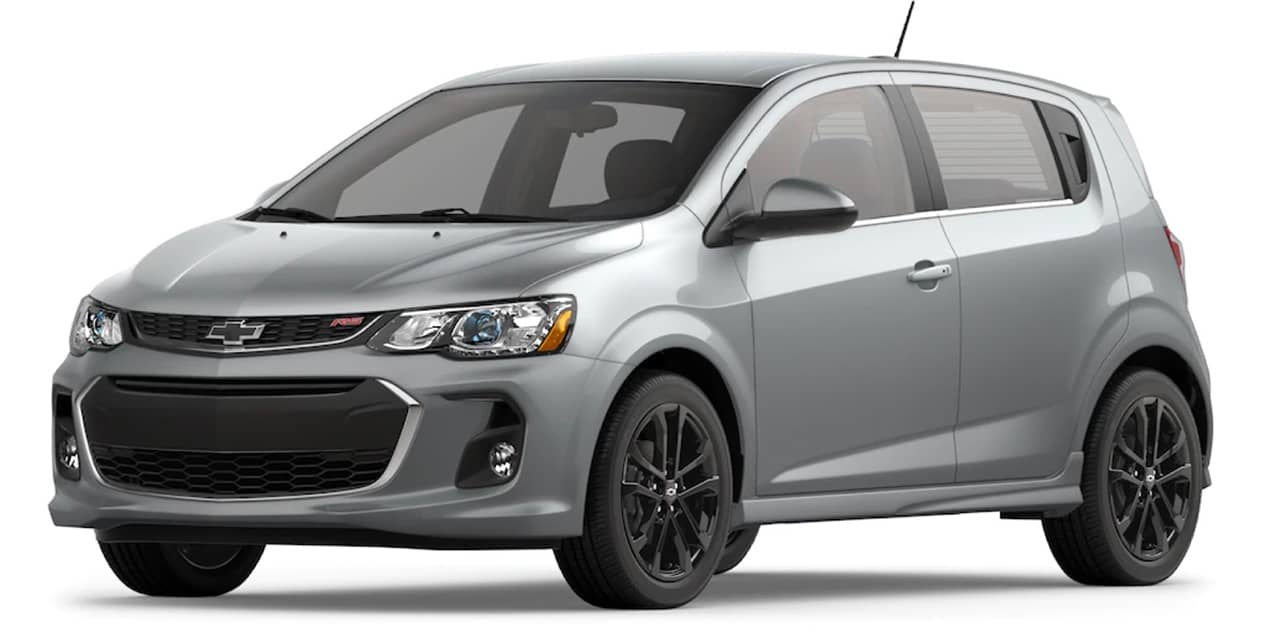 Chevrolet Sonic Silver Ice Metallic