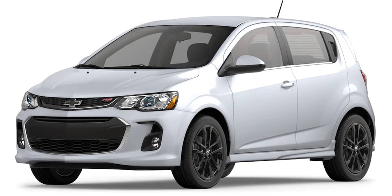 Chevrolet Sonic Summit White
