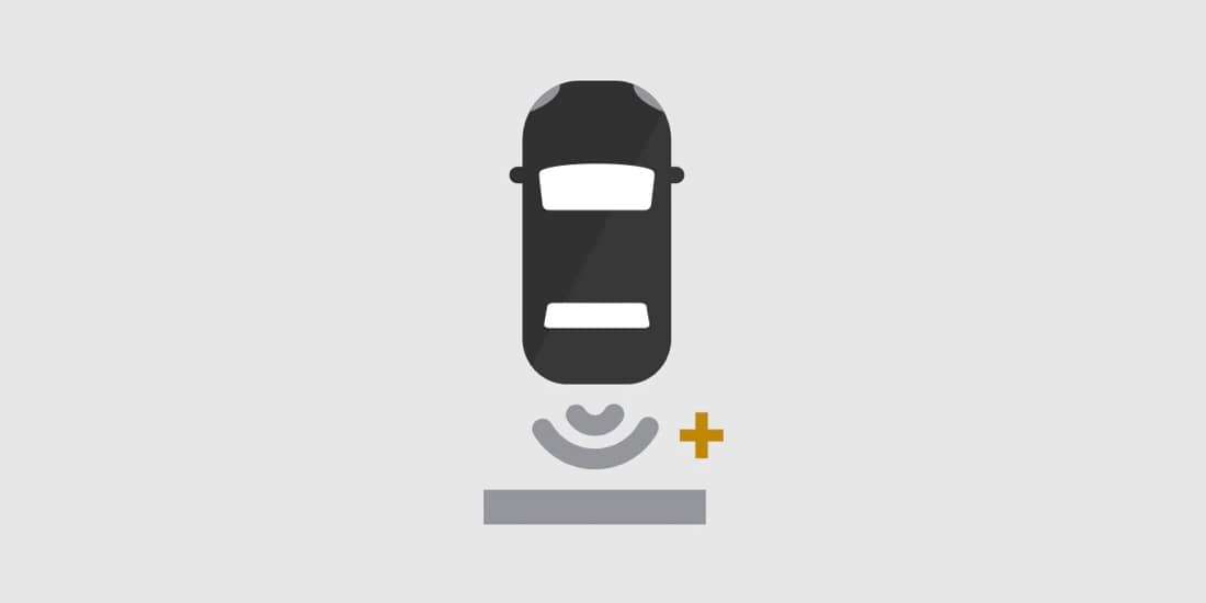 Chevy Sonic rear park assist icon