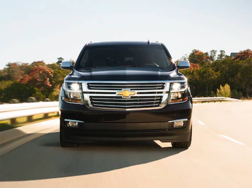 2020 Chevrolet Suburban straight on