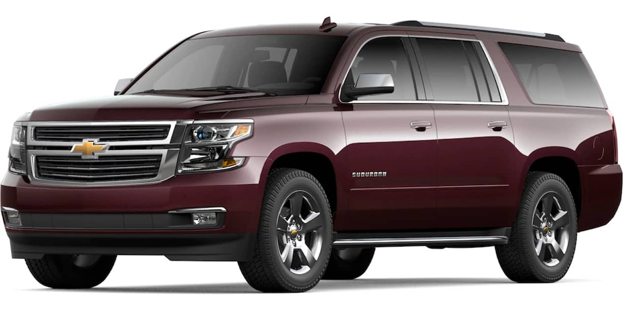Black Cherry Metallic Suburban