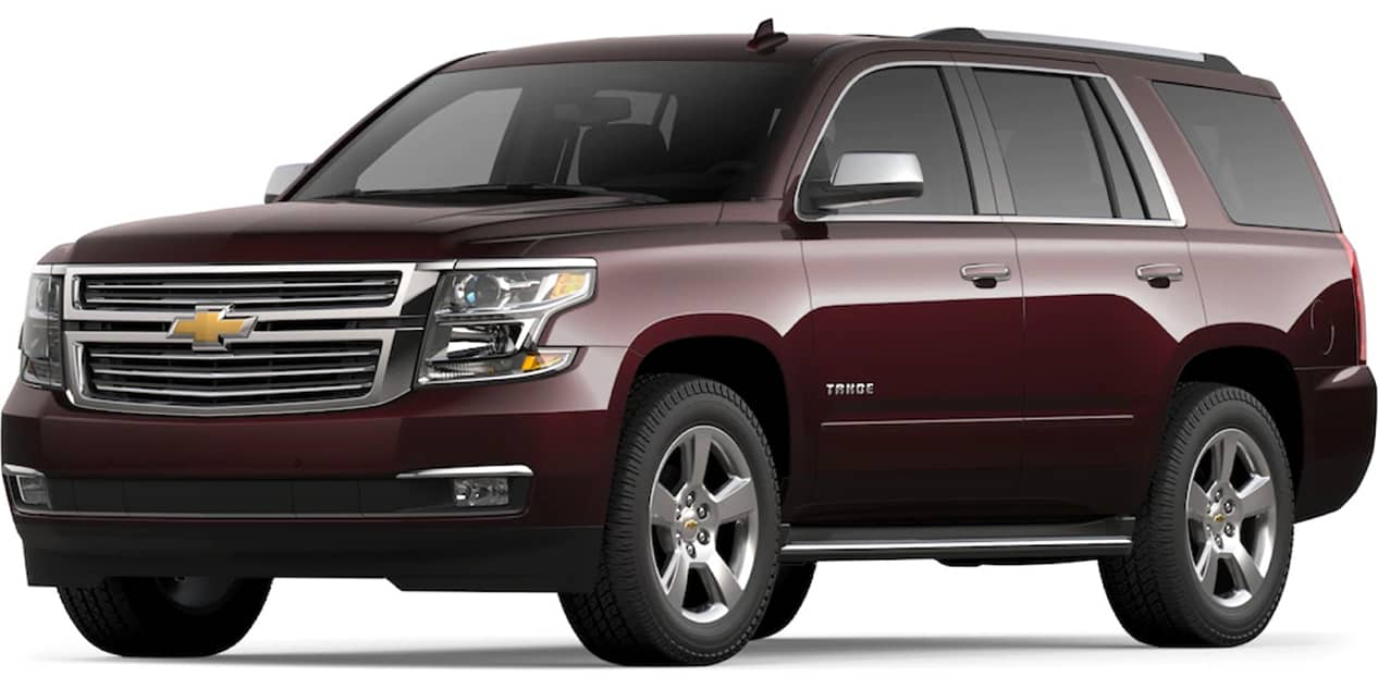 Black Cherry Metallic Tahoe