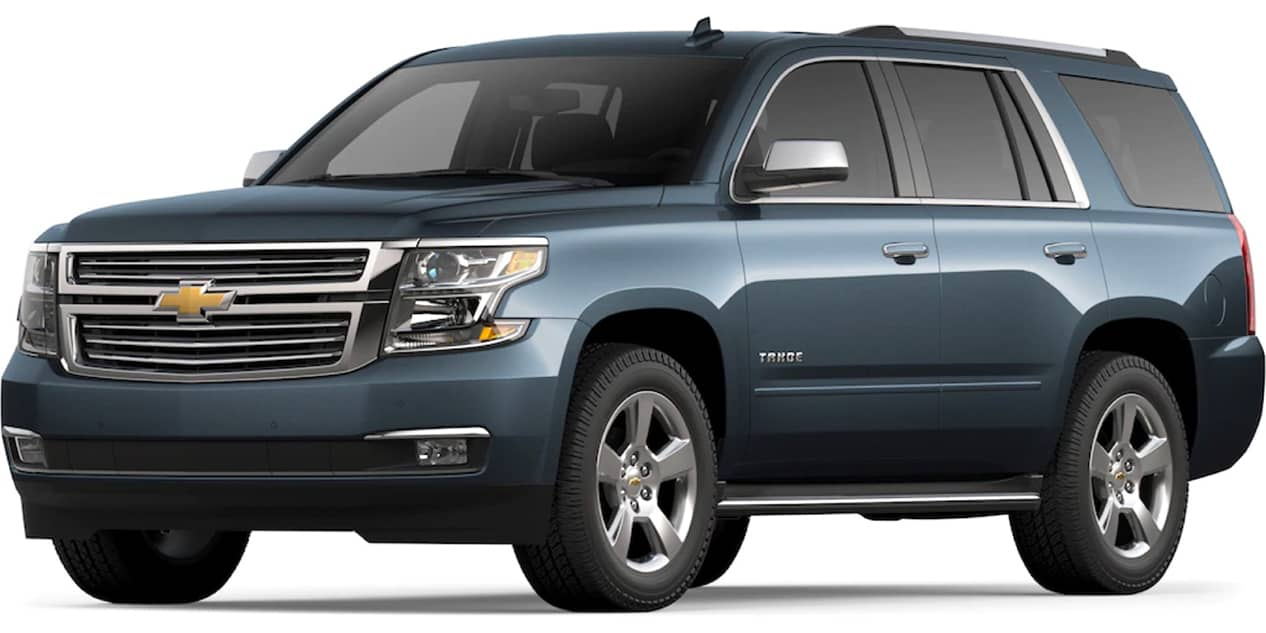 Shadow Gray Metallic Tahoe