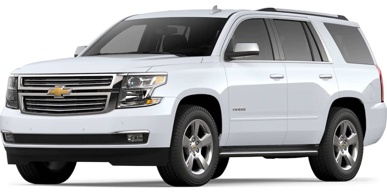 Summit White Tahoe