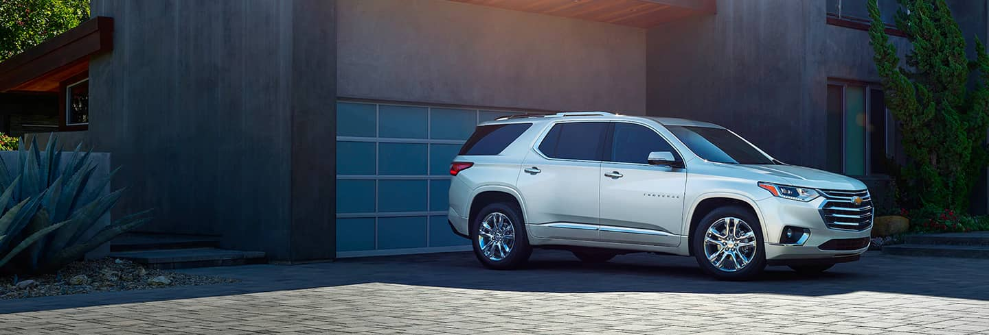 2020 Chevrolet Traverse Parked in Driveway