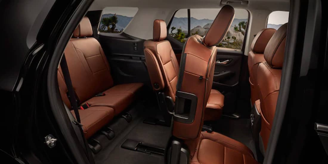 2020 Chevrolet Traverse Smart Slide Seating