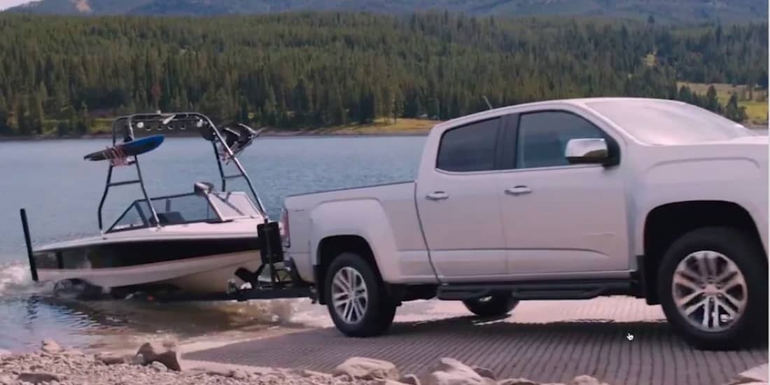 2020 GMC Canyon Trailer Sway and Hill Start Assist
