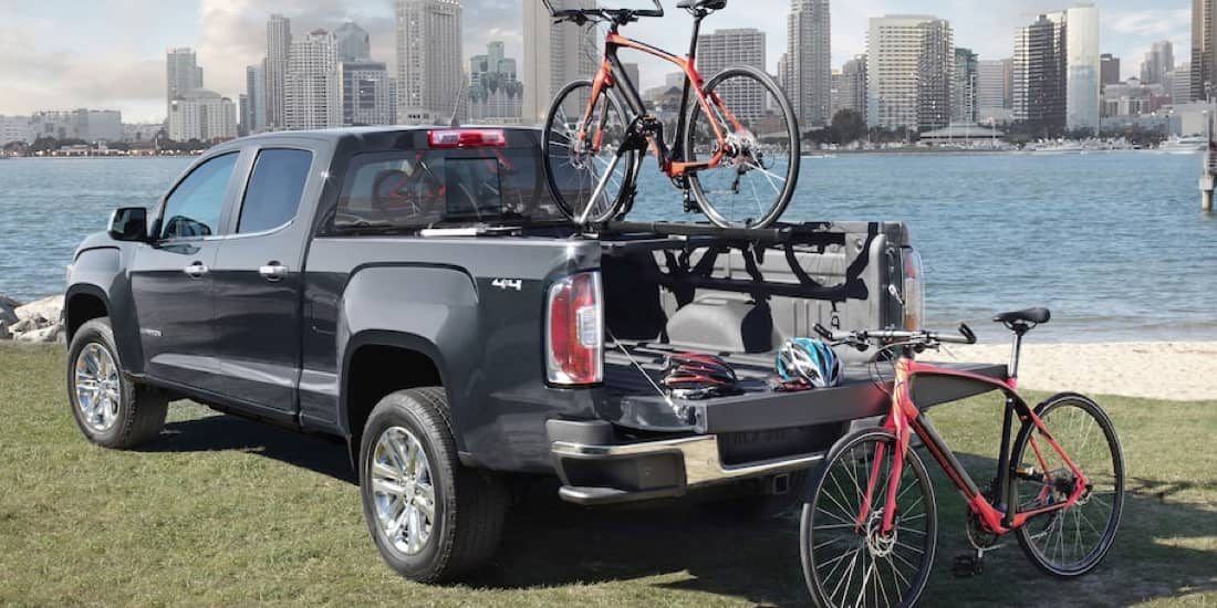 2020 GMC Canyon Available Cargo Accessories