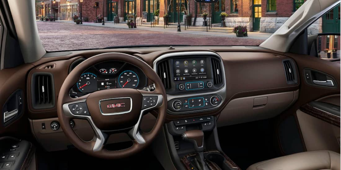 2020 GMC Canyon Available Heated Steering Wheel