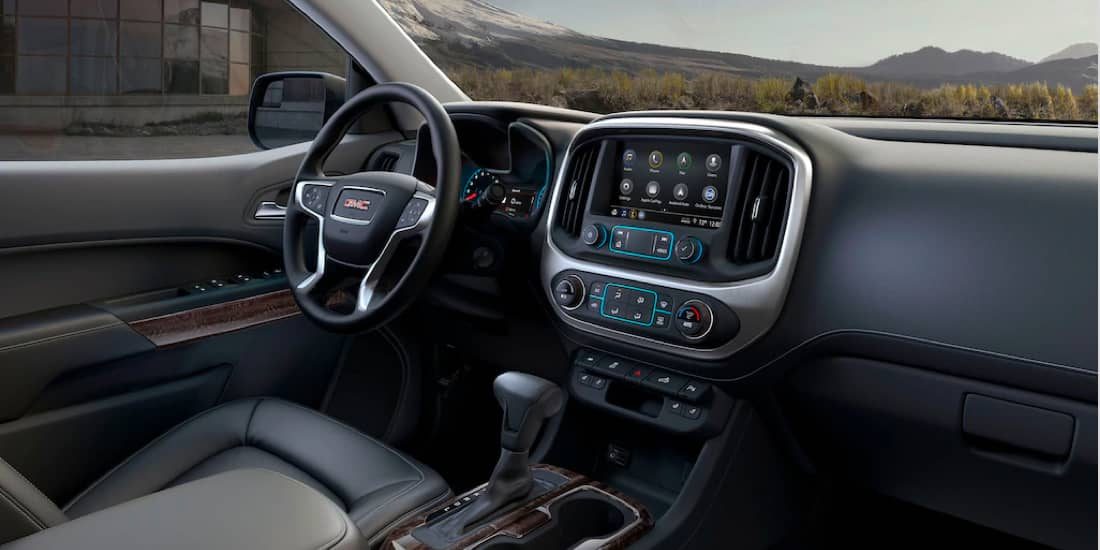 2020 GMC Canyon Available Soft-Touch Instrument Panel