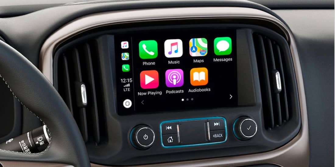 2020 GMC Canyon Apple CarPlay® Compatibility