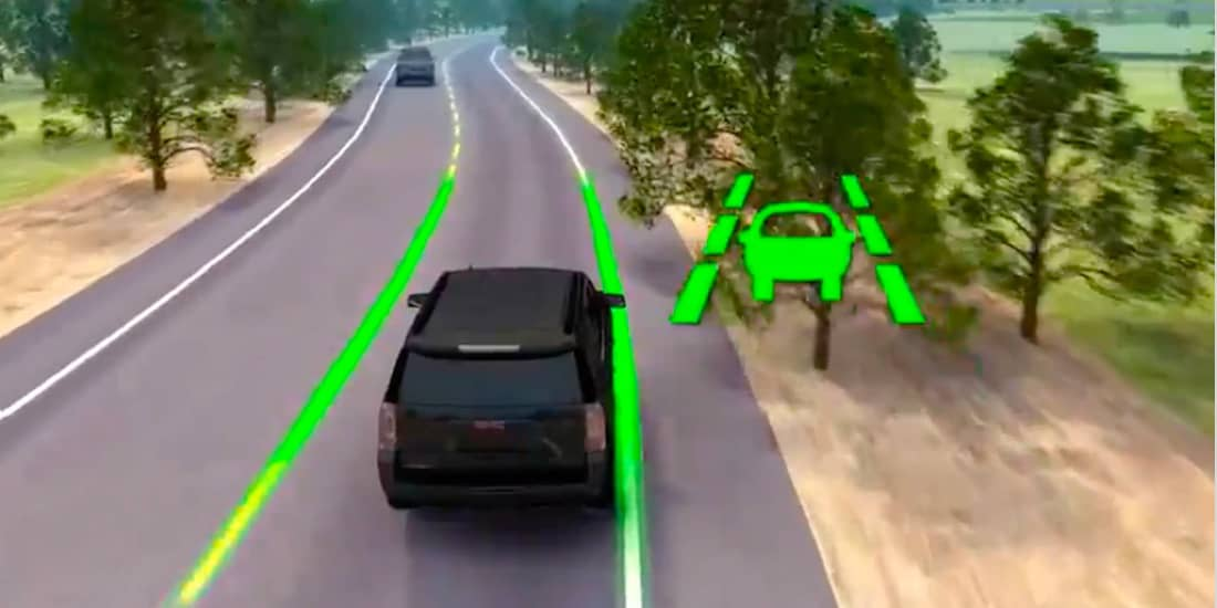 Sierra 1500 lane keep assist with lane departure warning