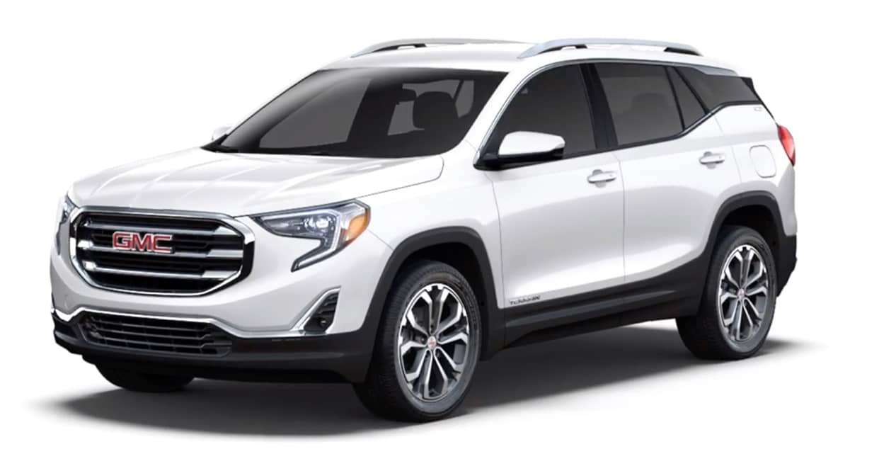 Summit White 2020 GMC Terrain