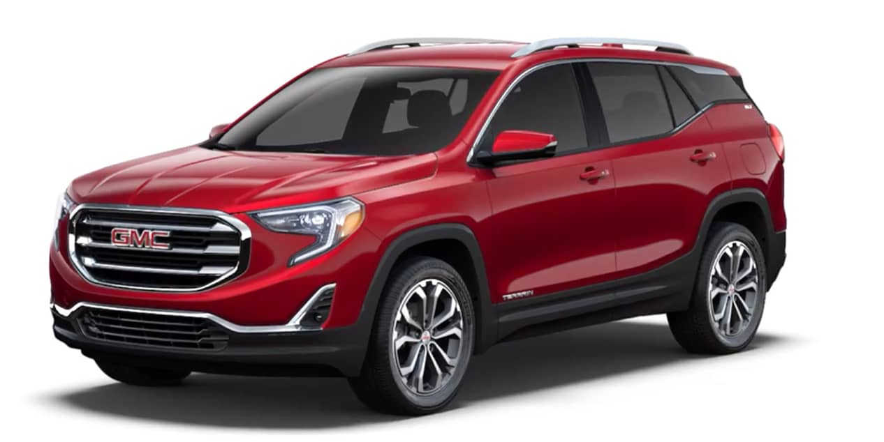 Red Quartz Tintcoat 2020 GMC Terrain