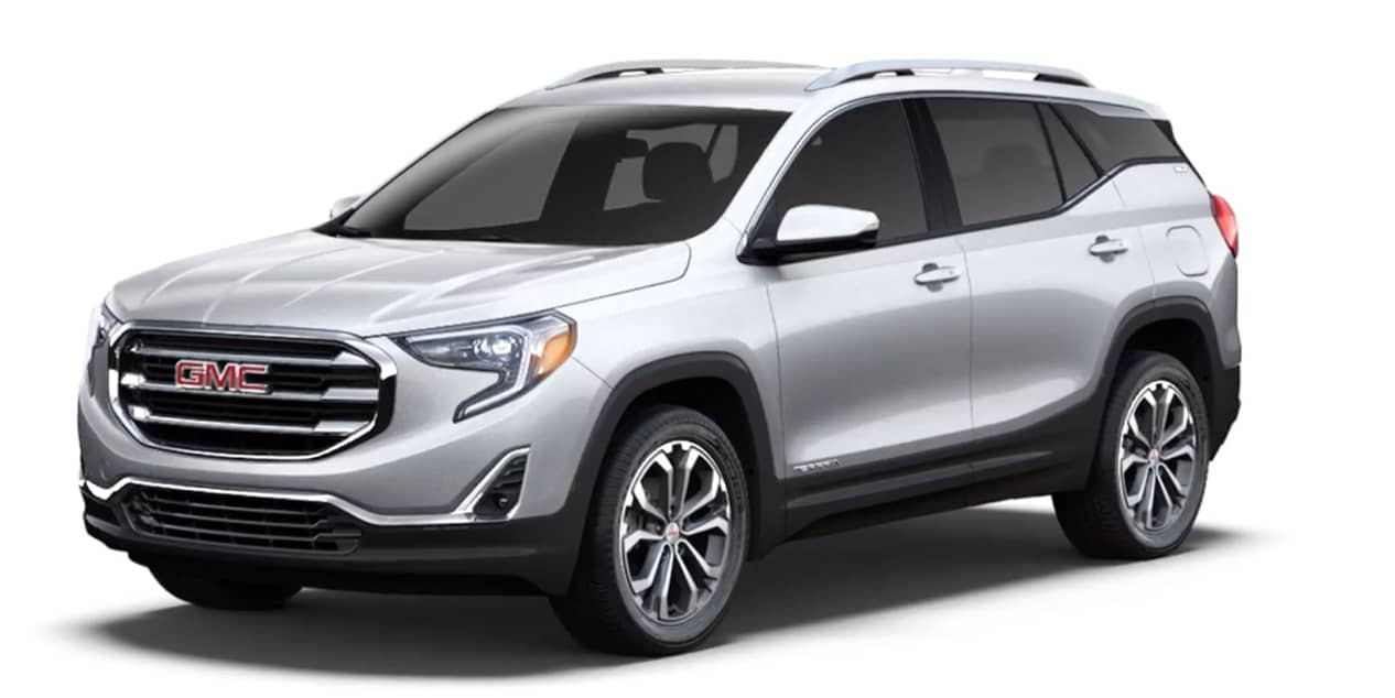 Quicksilver Metallic 2020 GMC Terrain
