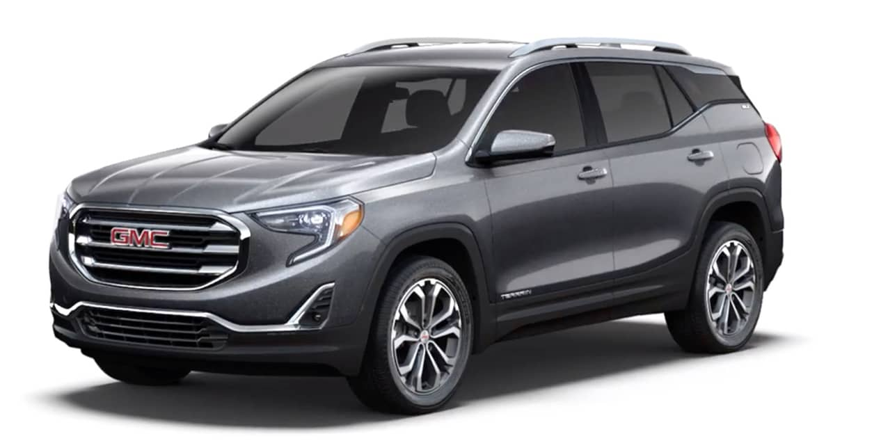 Satin Steel Metallic 2020 GMC Terrain