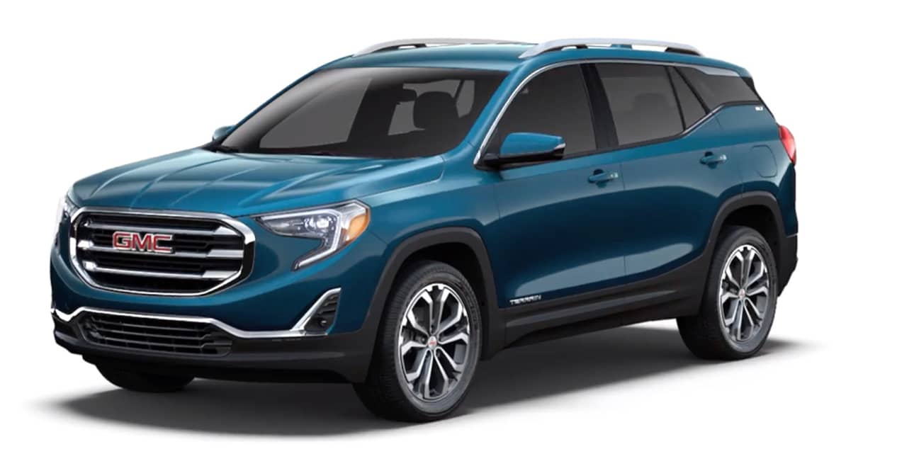 Blue Emerald Metallic 2020 GMC Terrain