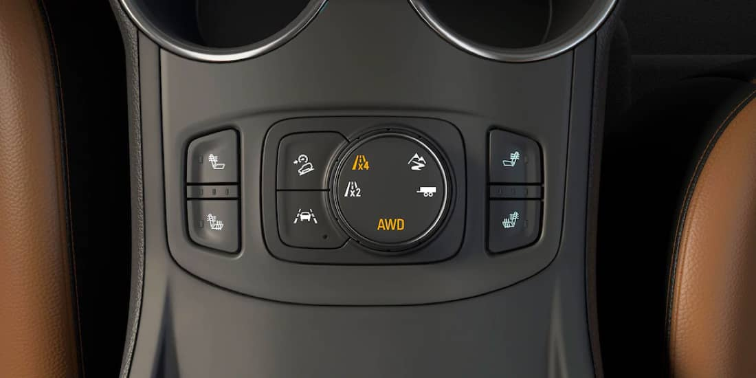 2020 GMC Terrain Traction Select System