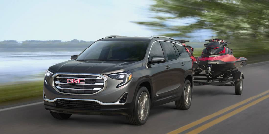 2020 GMC Terrain Towing a Trailer