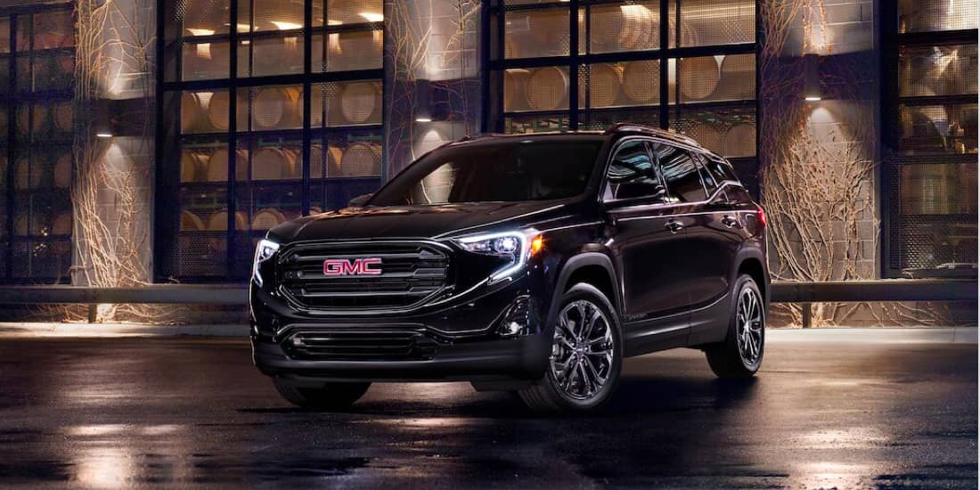 2020 GMC Terrain Terrain Elevation Edition Angled View