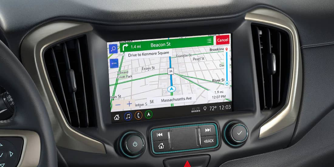 2020 GMC Terrain Built-In Navigation