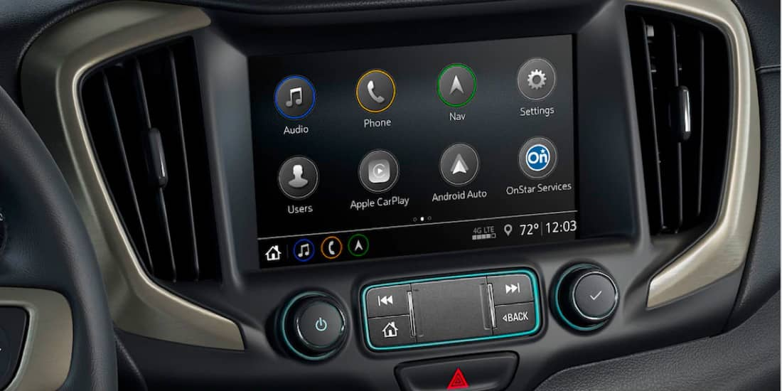 2020 GMC Terrain's Customizable Touch-Screen