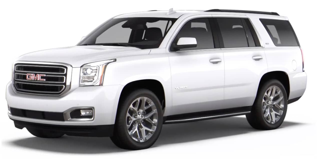 Summit White 2020 GMC Yukon