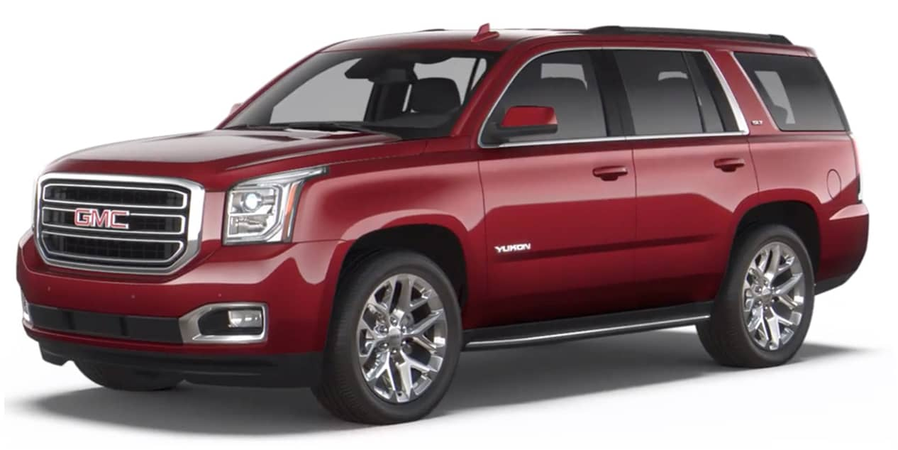 Crimson Red Tintcoat 2020 GMC Yukon