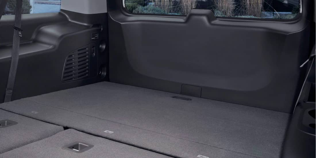 2020 GMC Yukon Third-Row Power Fold-Flat Seats