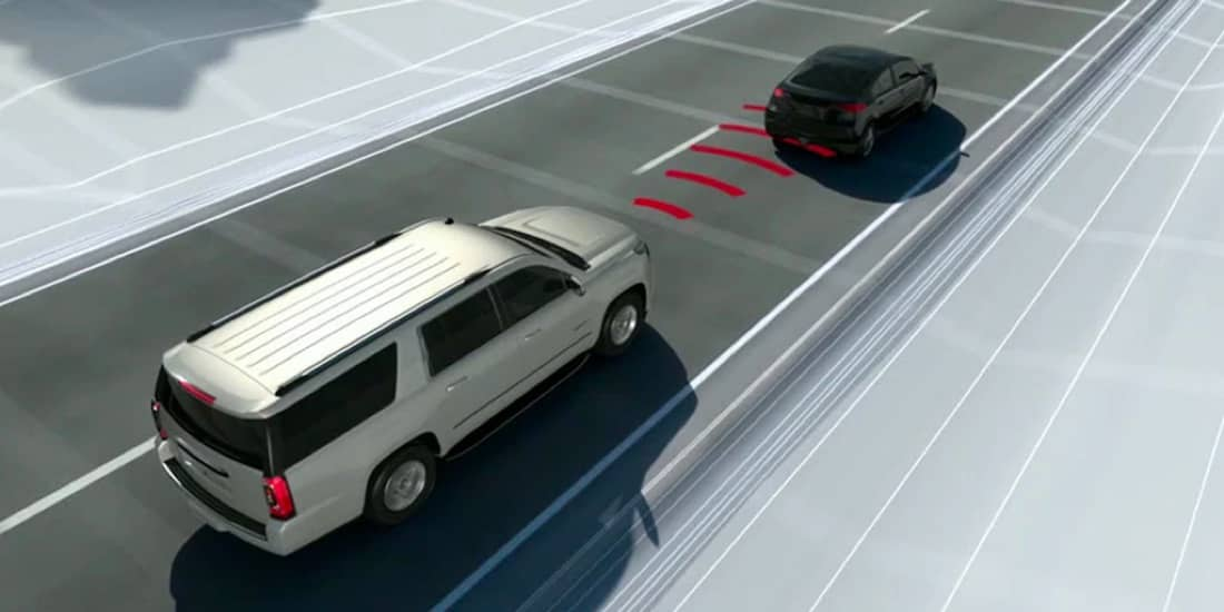 2020 GMC Yukon with Available Forward Collision Alert
