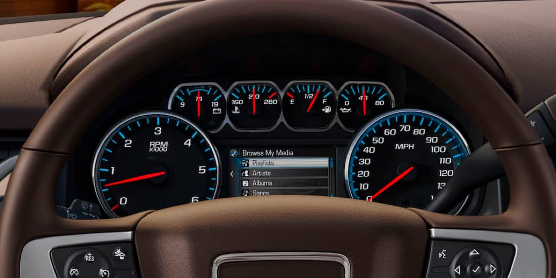 2020 GMC Yukon Driver Information Center