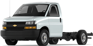 Front angled image of Chevrolet Express Cutaway Van