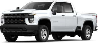 Front angled image of Chevrolet Silverado 2500 HD