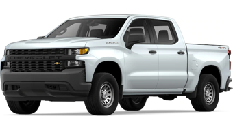 Front angled image of Chevrolet Silverado 1500