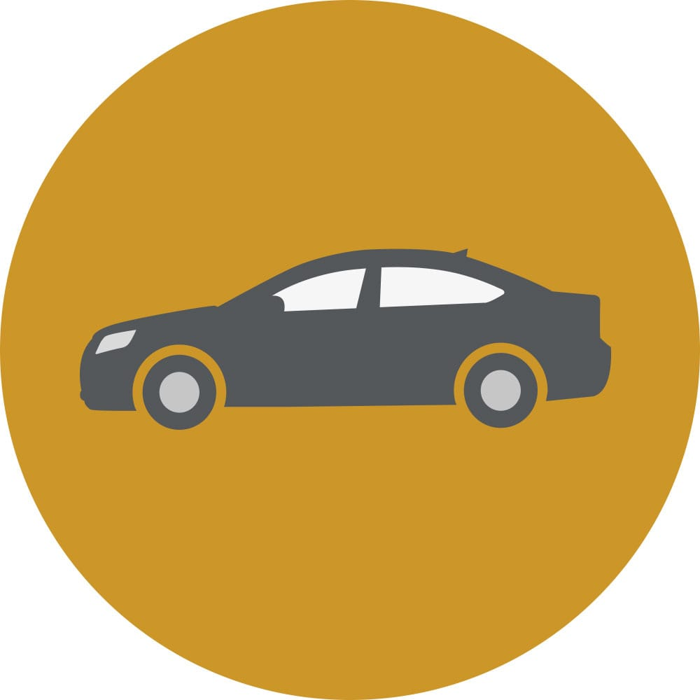 Courtesy Vehicle icon