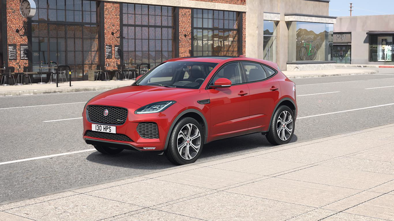 2018 jaguar e pace specs info hornburg jaguar los angeles. Black Bedroom Furniture Sets. Home Design Ideas