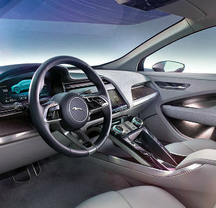 Jaguar Concept Backseat