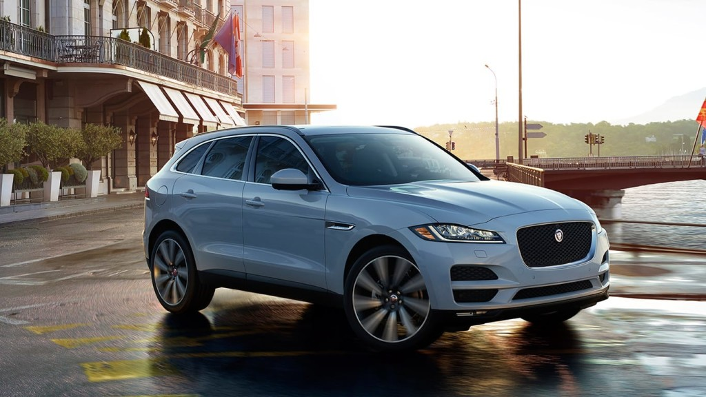 2017 Jaguar F-Pace Gray