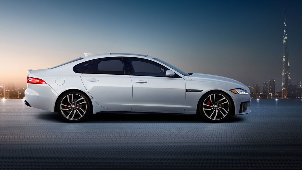 2017 Jaguar XF Profile