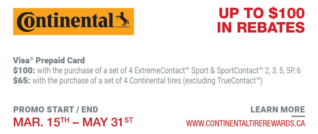 Tire Rebate Continental