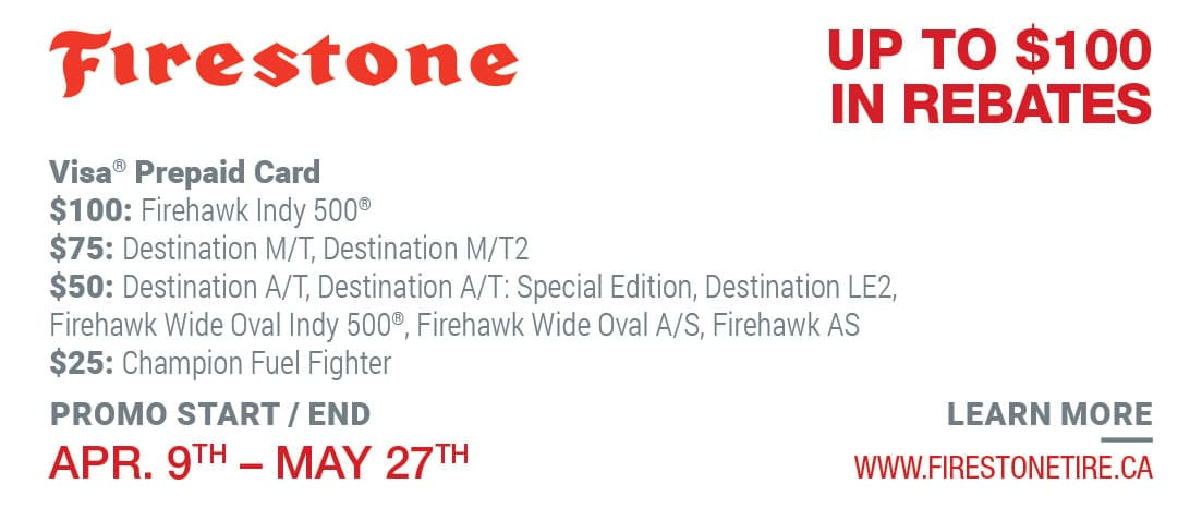 Tire Rebate Firestone