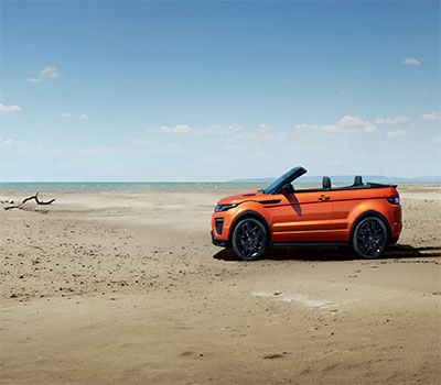 Land Rover Beach