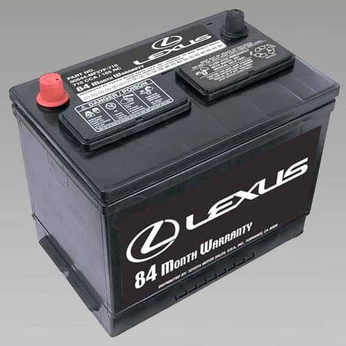 Genuine Lexus Batteries