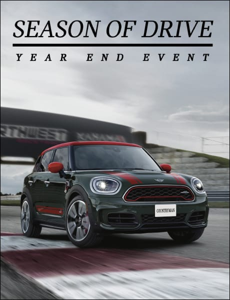 MINI Season of Drive Year End Event