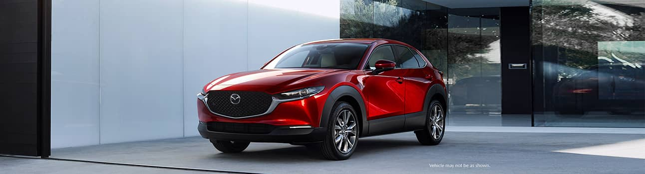 Diagonal View of 2020 Mazda CX-30