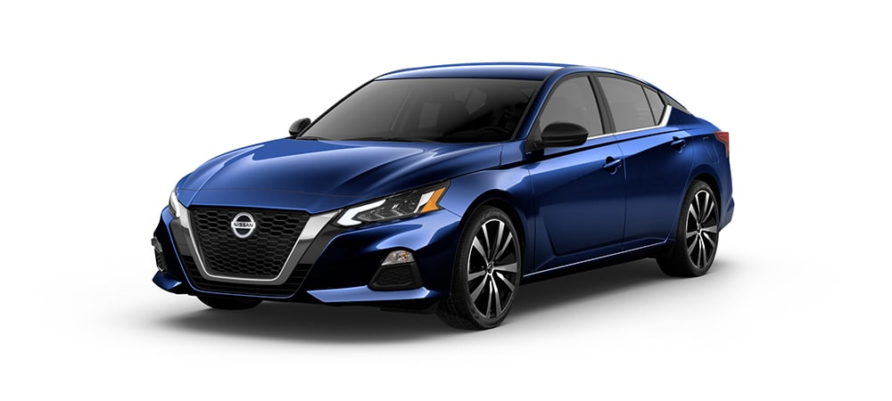 2020 Nissan Altima in Deep Blue Pearl
