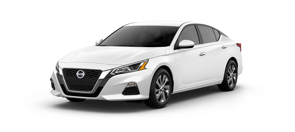 2020 Nissan Altima in Glacier White
