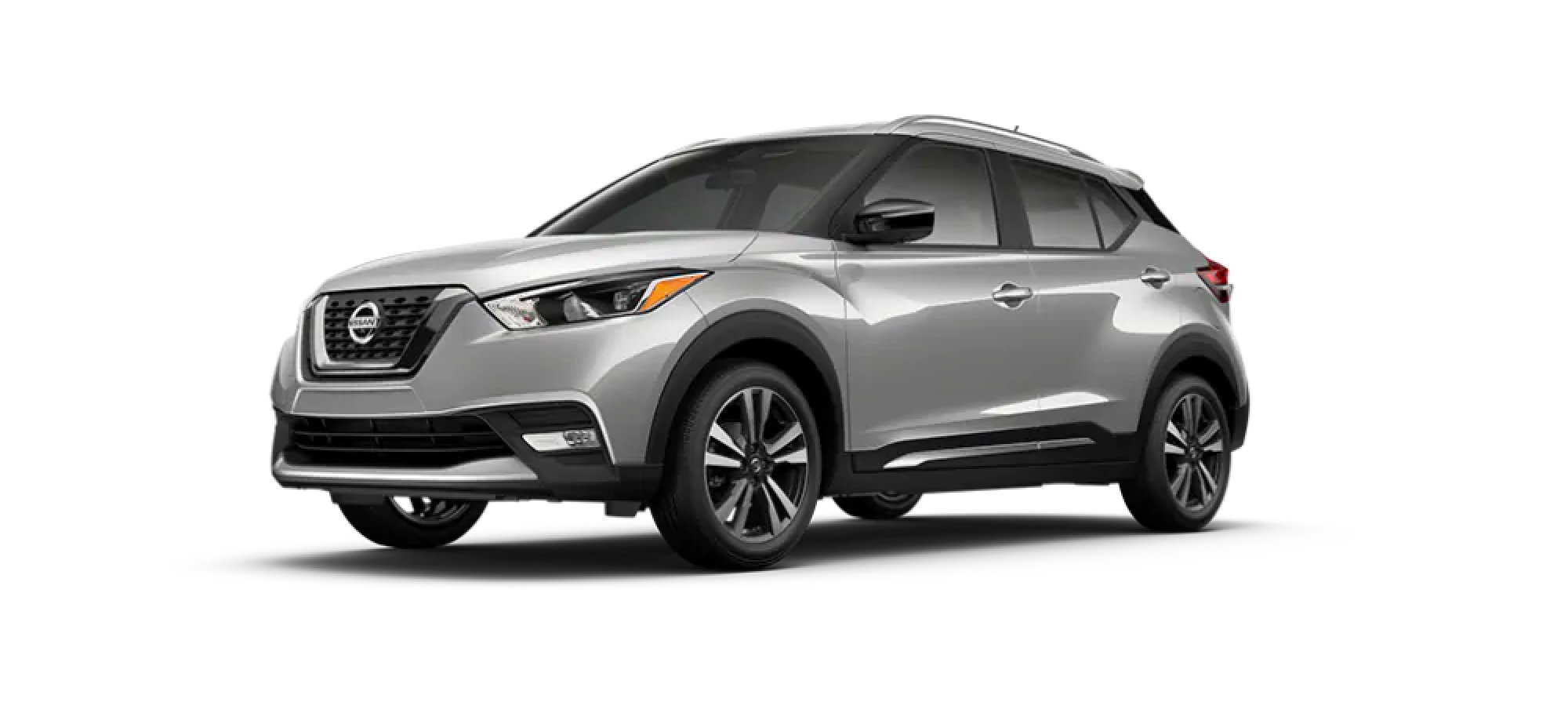 Brilliant Silver Metallic Nissan Kicks