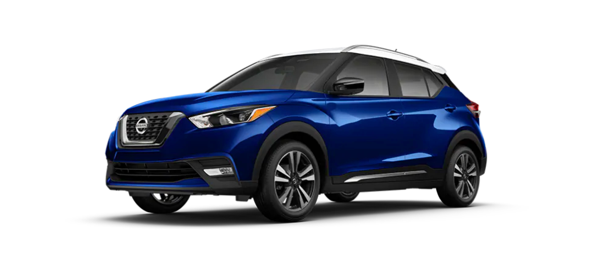 Deep Blue Pearl/Fresh Powder Nissan Kicks